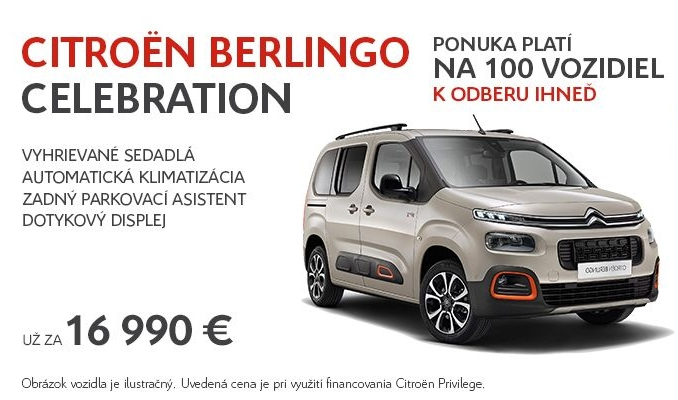 Citroen Berlingo cena